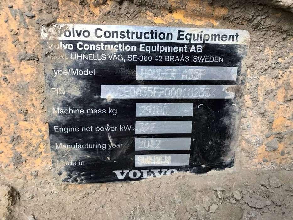 Volvo A 35 F - 2012 - image 7