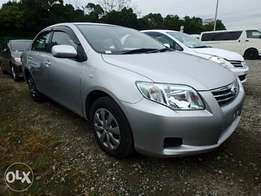 Toyota Corolla Axio Year 2010 Automatic Silver Color KCP Ksh 1,030,000