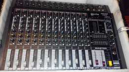 Super sound 12channel power mixer barely used on sale