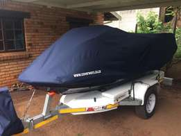 Jetski Covers for towing and storage