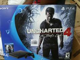 Brand New Slim PS4 500gb with Game inside