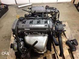 7AFE, Toyota carina E, avensis engine for sale