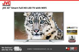 "JVC 43"" Smart Full HD LED TV with WIFI"