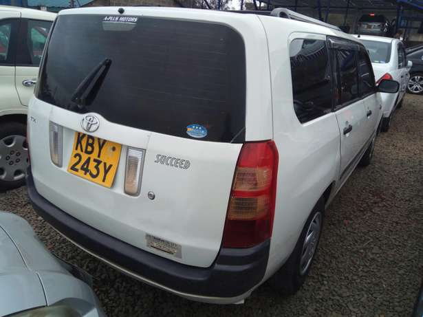 Toyota Succeed KBY registration TX grade Nairobi CBD - image 2
