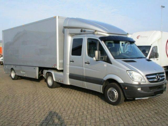 Mercedes-Benz Sprinter 519CDI DOUBLECAB+ Mobile werkaufstelle - 2012