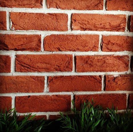 Wspaniały Czerwona Cegła Dekoracyjna Lico Płytki Dekoracyjne Na Ścianę OO77