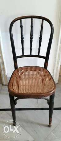 6 Traditional Straw Chairs (Need to be repaired)