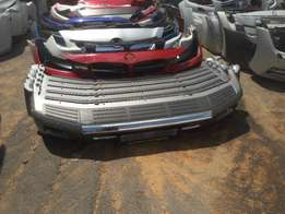 Good condition Genuine clean dentless landcruiser 2014 bumpers 4 sale