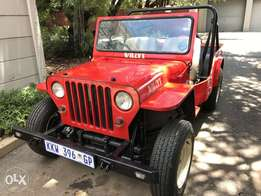 Willys jeep Cj2a replica