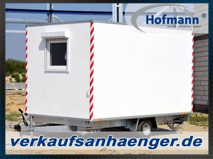 Hofmann bauwagen 1100kggg anhänger 360x210x210cm