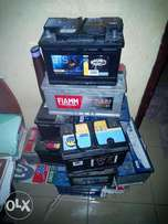 Solid 12V 60, 74, 80 and 100ahm car battery for sale.
