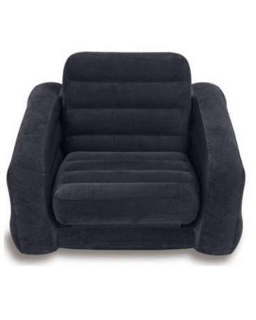 INTEX Pull-Out Chair and Twin Bed Mattress Sleeper - Black Nairobi CBD - image 2