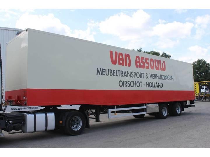 Van Eck DT-2BI Oplegger - 2000