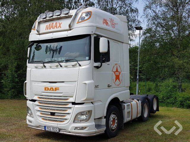 DAF FTS XF510Z (Euro6) 6x2 Tractor - 16 - 2016