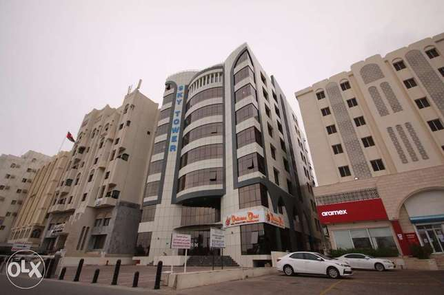 Luxury Offices in Sky tower building al Khuwair next to Aramex