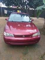 Very clean Toyota corolla for sale at a very affordable price.