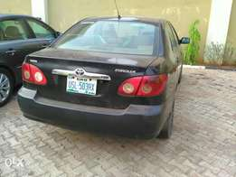 neatly used corrolla 2005 model for sale in Benin.