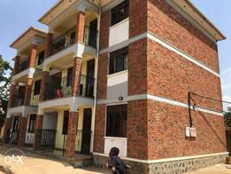 a two bedroom apartment for rent in Kireka