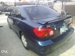 Toyota corolla 2004 sport 6 months used