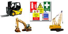Earth movers machinery training dump truck cranes tlb forklift fel
