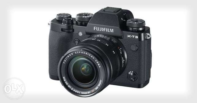New fujifilm,fuji x-T3 lens 18-55-On discount part of The Festive Week
