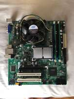 Intel Motherboard with CPU