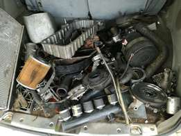 Ssang yong musso engine parts