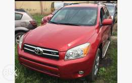 2008/09 Tokunbo Toyota Rav4, With Leather Seats
