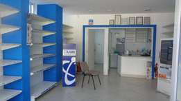 Available Chemist space for rent opposite MP Shah on Parklands road
