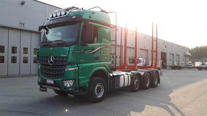 Mercedes-Benz Arocs 3563-8x4/4vla - 2015