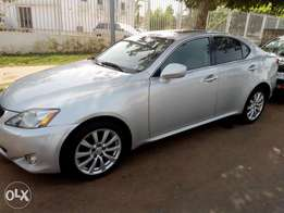 A foreign used Lexus is250