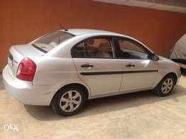 Barely used Hyundai Accent is up for sale