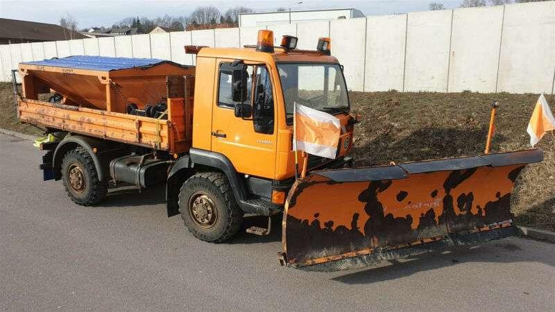 MAN 10.185 Laek Kommunal-winterdienst-streuer-pflug - 2002