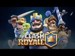 Clash royle acount wanted