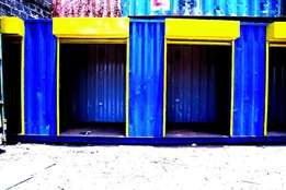 Container Stalls and Offices