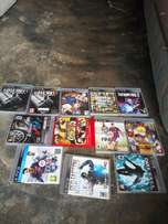 PS 3 games available