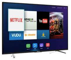 New 55 inch Hisense smart and digital UHD 4K LED TV.