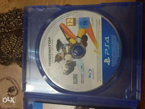 Overwatch ps4 perfect condition اوفر