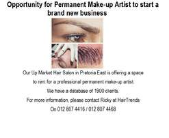Qualified Permanent Make-up Artist