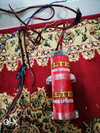 3.5 capacitor with wires for sale