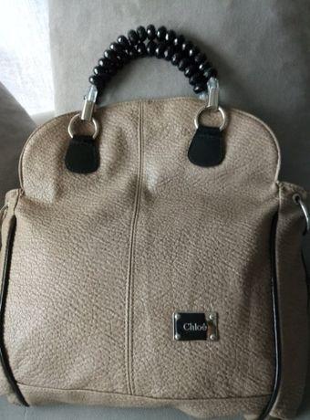 8cdcc7ba160d0 Chloe torebka A4 beżowa skóra naturalna - Lubartów - Witam sprzedam pięlną  torebkę firmy CHLOE ze