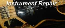 We repair musical equipments