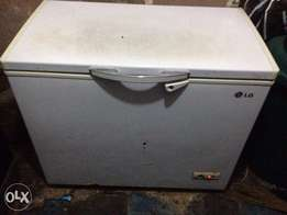 LG freezer. Clean and neat