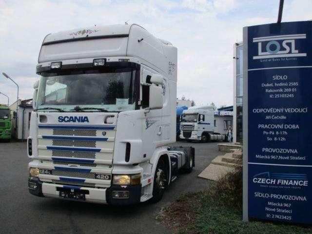Scania 124l420 Euro 3 Mega/lowdeck - 2003