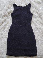 616c51a1aa KappAhl Elegancka Sukienka Koronkowa Fiolet Śliwka M (38)