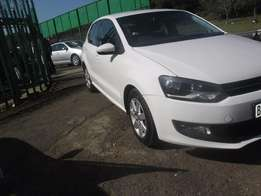 2012 White VW Polo 6 1.4 Hatch for sale