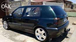 18 000Vw golf 3 gs 1.6 for sale