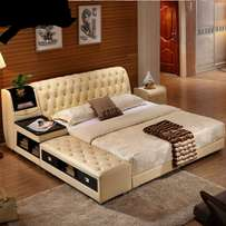 Fotun leather bed made on order