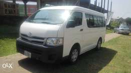 Superclean Toyota Hiace 2013 (almost new)