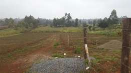 50x100 Plot for sale At Muguga- Kanduma